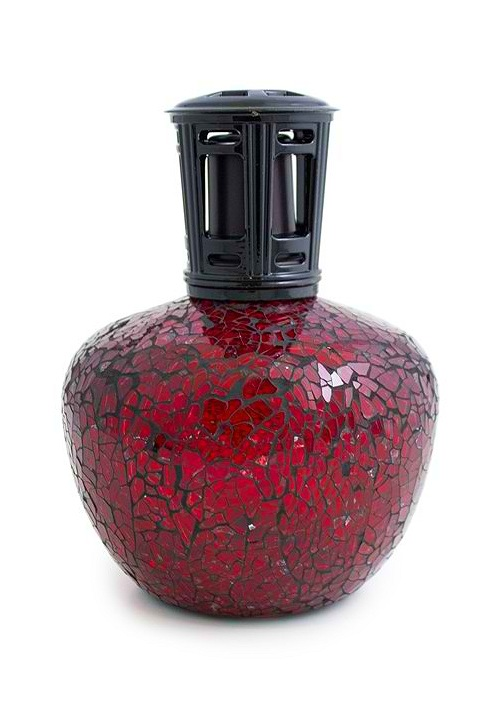 Eden Aromatic Lamp - Black and Red Moasic