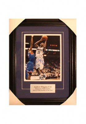 Andrew Wiggins, Autographed Photo