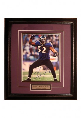 Ray Lewis, Autographed Photo