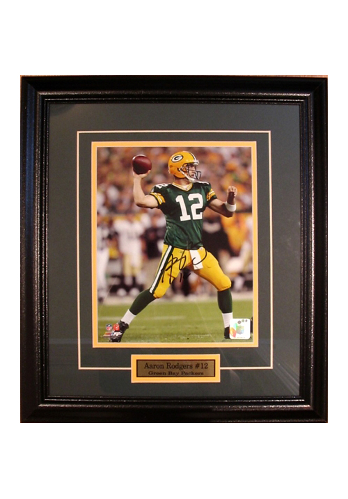 Aaron Rodgers, Autographed Photo