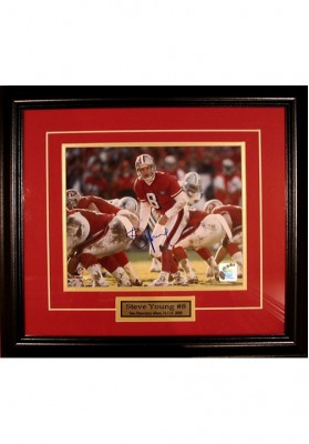 Steve Young, Autographed Photo
