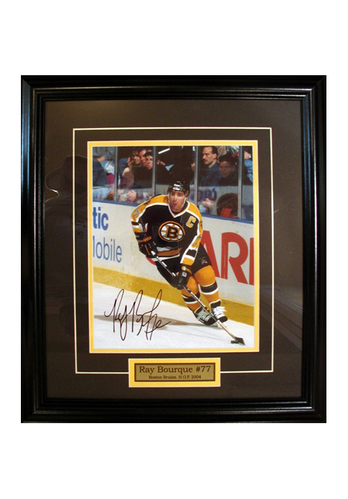 Ray Bourque, Autographed Photo