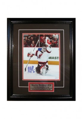 Martin Brodeur, Autographed Photo