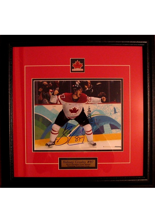 Sidney Crosby, Autographed Photo