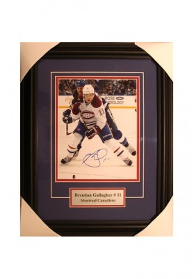 Brendan Gallagher, Autographed Photo
