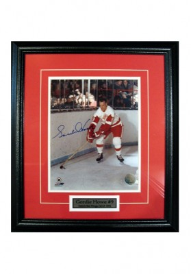 Gordie Howe, Autographed Photo