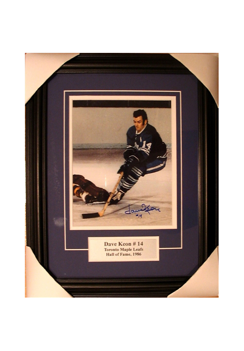 Dave Keon, Autographed Photo