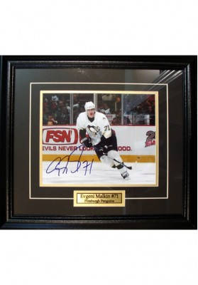 Evgeni Malkin, Autographed Photo