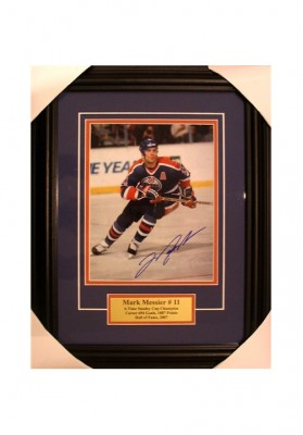 Mark Messier, Autographed Photo