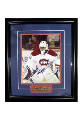 Carey Price, Autographed Photo