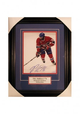 P.K. Subban, Autographed Photo