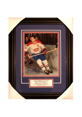 Jean Beliveau, Autographed Photo