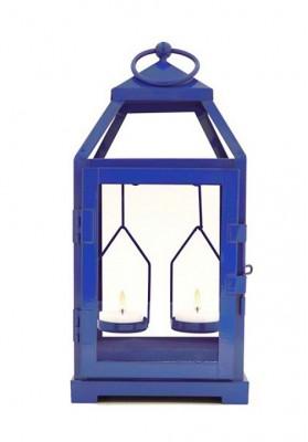 Cutout Metal Lantern